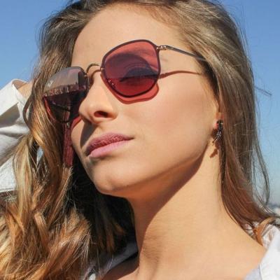 RAY BAN太陽眼鏡 經典品牌/金-粉水銀#RB3579N 001E4