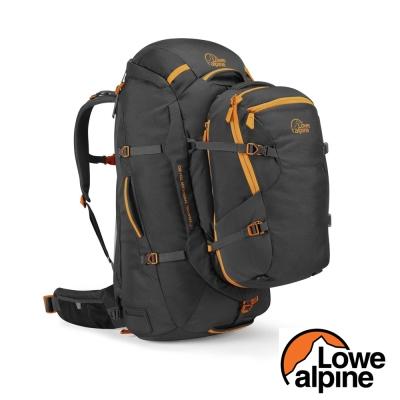 【英國 LOWE ALPINE】TREKKER 70L+30L 健行登山背包_煤碳黑