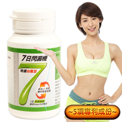 Minibody纖活 7日閃澱機(30錠/瓶)