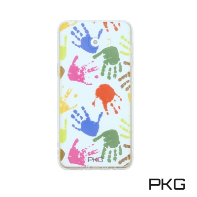 PKG SAMSUNG C9PRO 彩繪空壓氣囊保護殼-浮雕彩繪-繽紛手掌