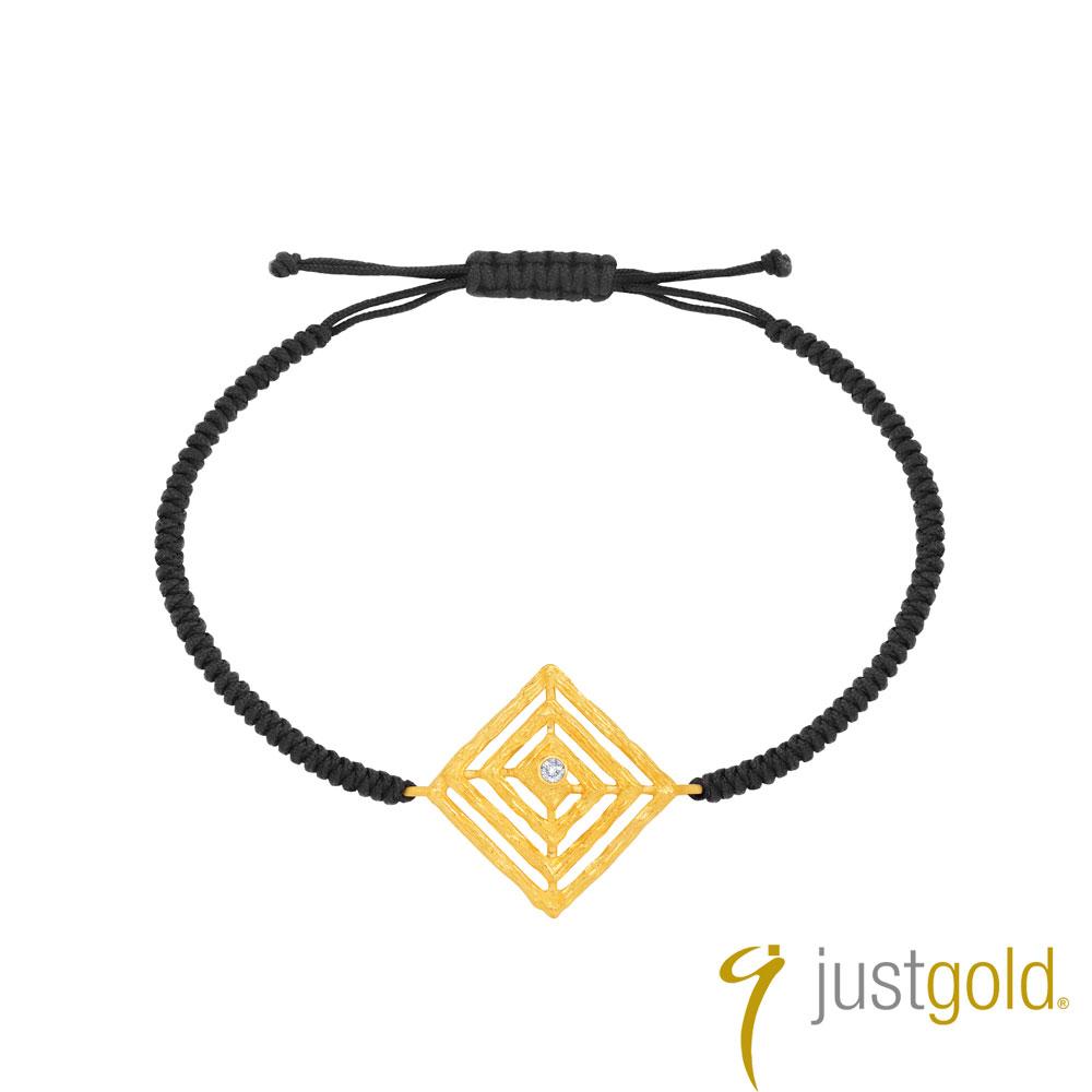 鎮金店Just Gold 智慧光芒系列 黃金手繩