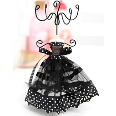 Aimee-Toff-黑色舞后神秘紗網飾品架