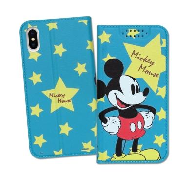 迪士尼授權正版 iPhone X 印花系列彩繪皮套(米奇)