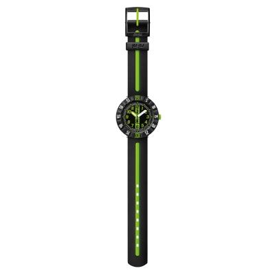 FlikFlak 兒童錶 GREEN AHEAD 綠色衝鋒手錶