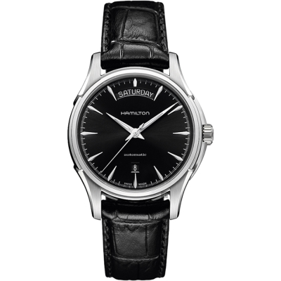 Hamilton 漢米爾頓 Jazzmaster Day Date 爵士機械錶-黑