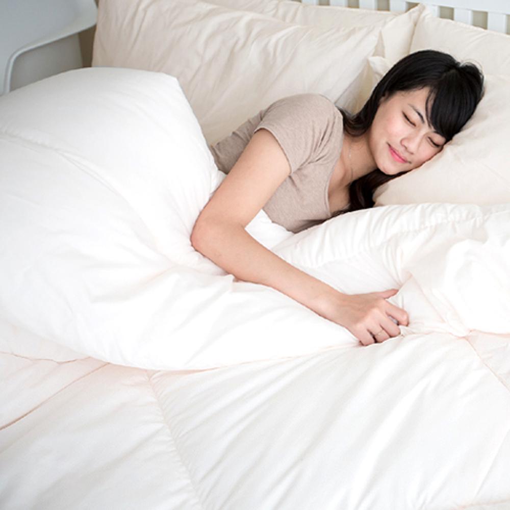 凱蕾絲帝-台灣製造-超保暖100%純棉澳洲純新天然羊毛被(單人)