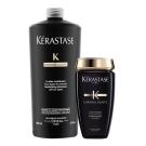 *Kerastase卡詩 黑鑽逆時髮浴超值組(髮浴1000ml+250ml)