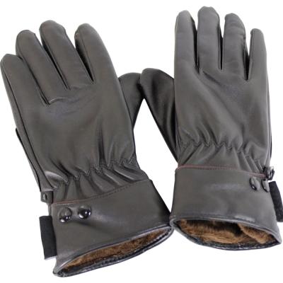 omax多樣式防風潑水止滑pu皮手套-女