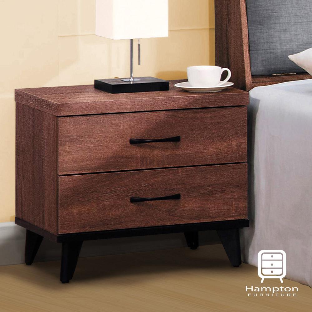 漢妮Hampton 道奇系列 淺胡桃床頭櫃