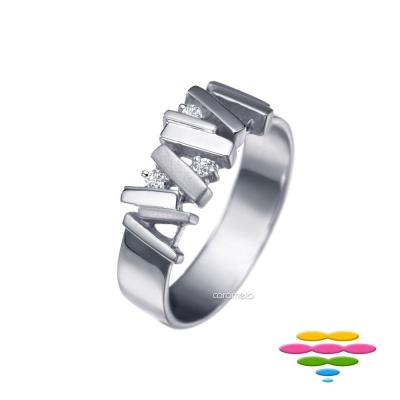 彩糖鑽工坊 鑽石 男戒 堆積愛情系列