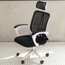 IDEA-超透氣優質護腰高背電腦椅-PU靜音滑輪