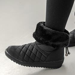 正韓暖呼呼反摺雪靴