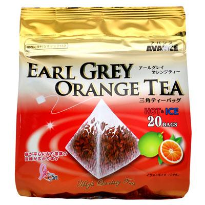 國太樓 立體三角包格雷伯爵紅茶-柳橙20P(32g)