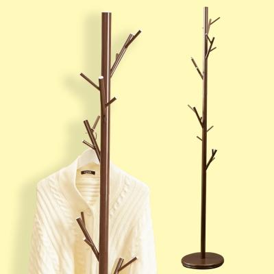 澄境 北歐森林系穩重樹枝衣帽架-DIY