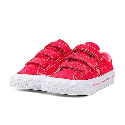 24H-CONVERSE-中大童鞋660038C-桃紅