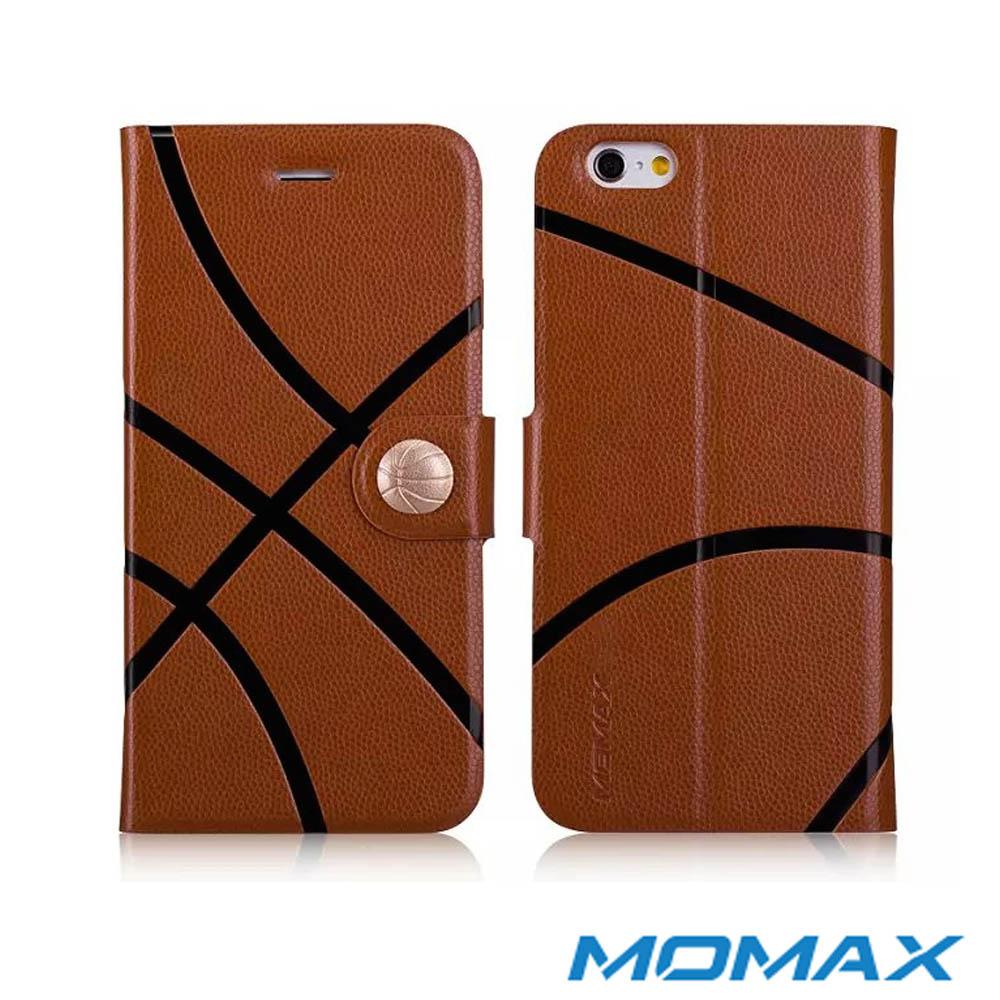 Momax 摩米士 iPhone 6 (4.7吋)運動系列保護皮套(籃球款)