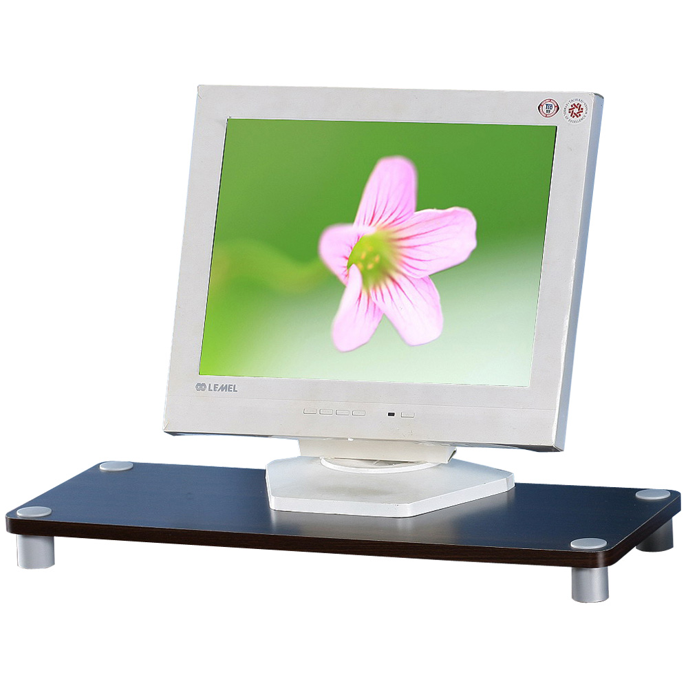 Homelike 桌上型萬用架-胡桃色