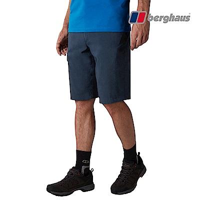 【Berghaus貝豪斯】男款輕量快乾透氣短褲S09M08-藍