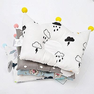 嬰兒皇冠造型兒童機能定型枕-共7款