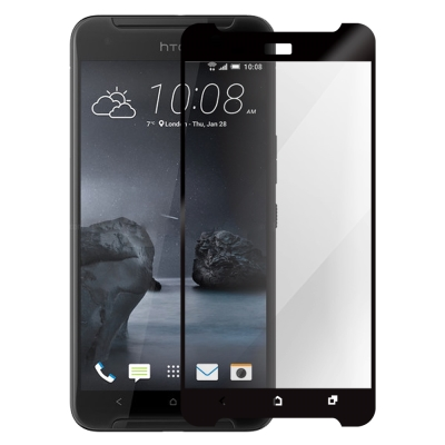 Metal-Slim HTC ONE X9  滿版玻璃保護貼 紳士黑
