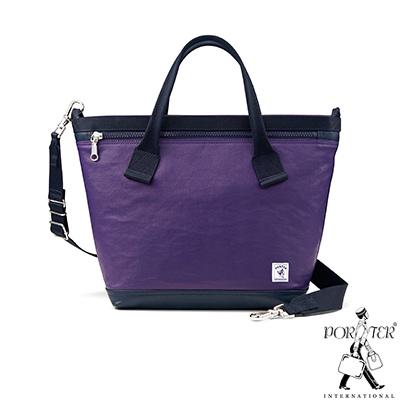 PORTER-彩虹甜心SKITTLES輕巧兩用托特包-M-紫色