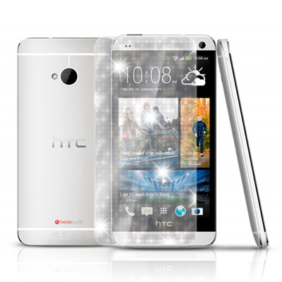 D&A HTC NEW ONE(M7)專用日本AAA頂級螢幕保護貼(閃亮...
