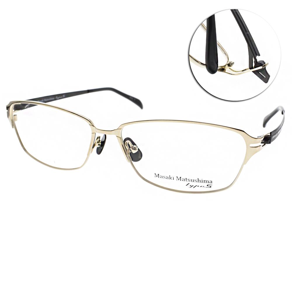 Masaki Matsushima眼鏡 日本松島正樹/金-黑#MFT5007 C01