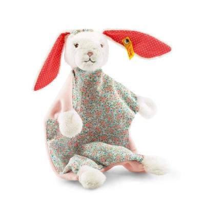 STEIFF德國金耳釦泰迪熊 - 嬰幼兒安撫巾 Blossom Babies Rabbit