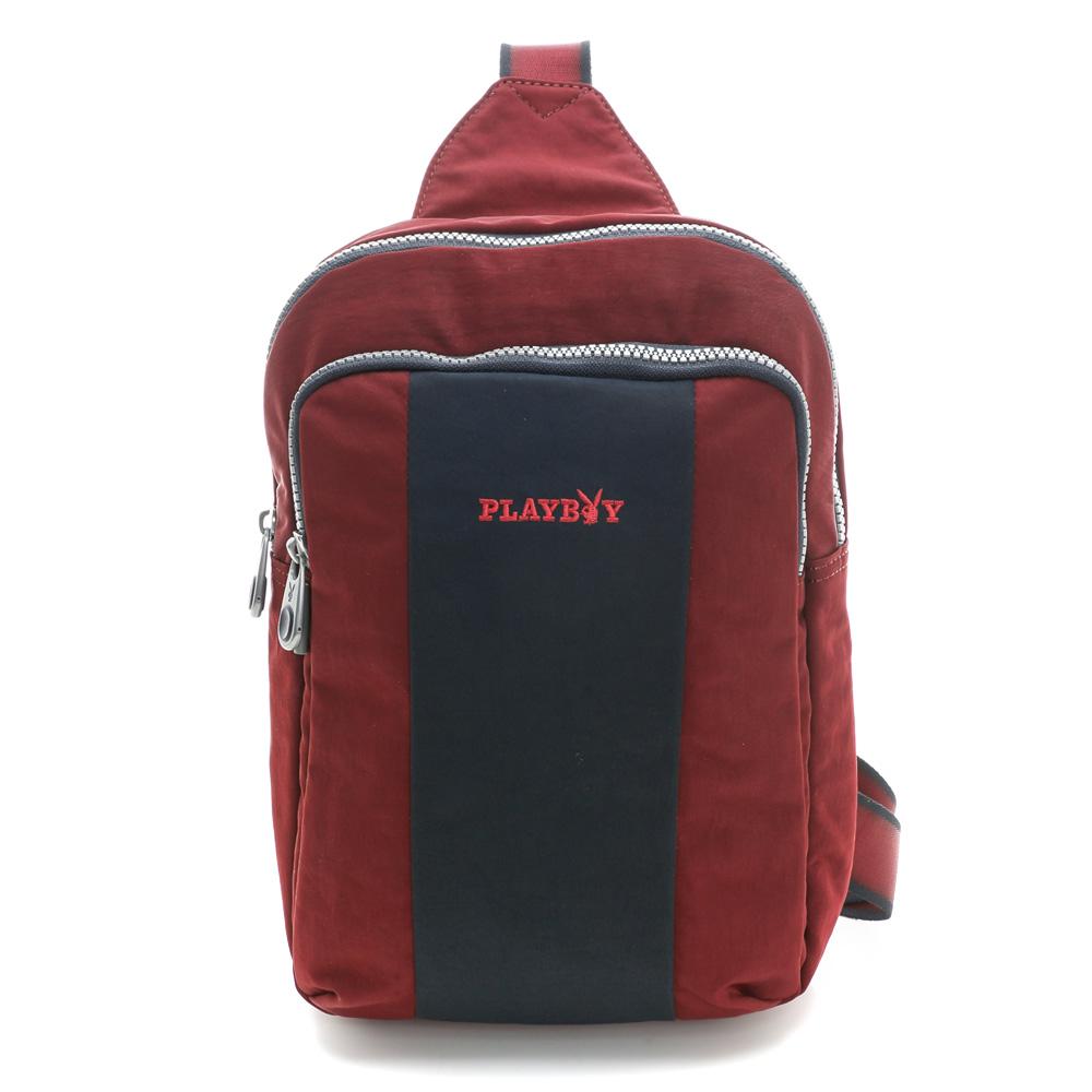 PLAYBOY- S-Stylos 系列後背包-紅色