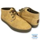 TOMS 率性高筒休閒鞋-男款(黃)