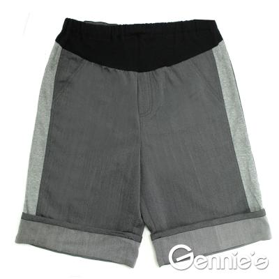 Gennie's奇妮- 休閒實穿孕婦反折短褲(C4W09)