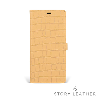 STORYLEATHER Note 8 Style-N89 摺邊折疊式 客製化皮...
