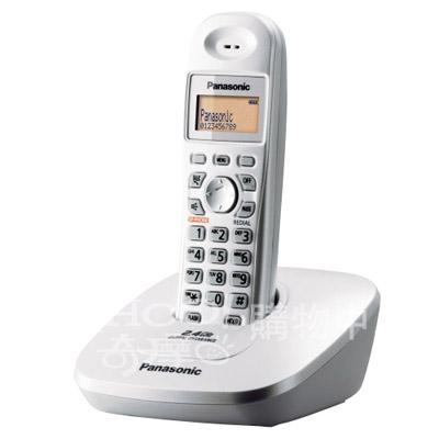 Panasonic 國際牌 2.4GHz無線電話 KX-TG3611(白色)