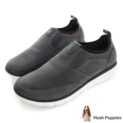 Hush Puppies ZEBULON 直套式健走鞋-灰色
