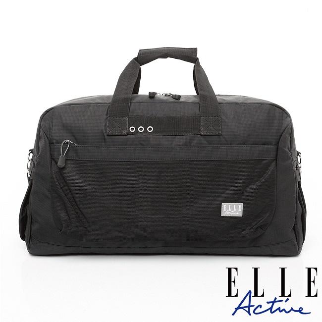 ELLE Active Fish Net 漁網系列-旅行袋-黑色