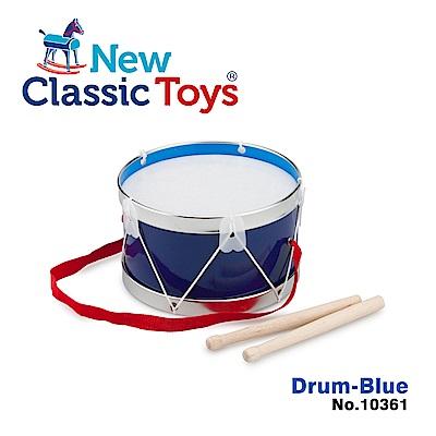 【荷蘭New Classic Toys】幼兒音樂鼓-俏皮藍 - 10361