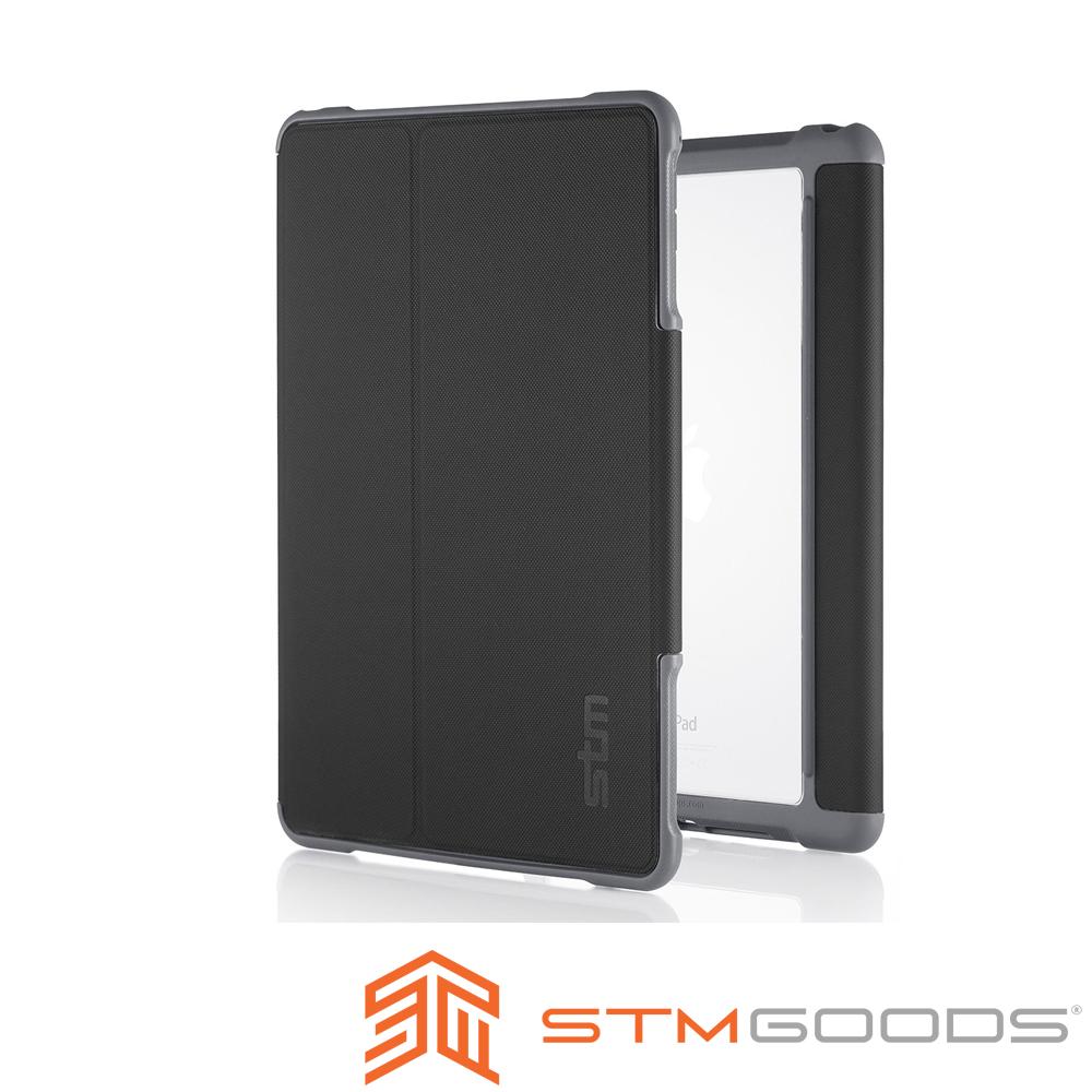 澳洲STM Dux iPad Mini 4 軍規防摔殼-黑色