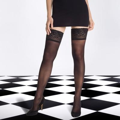法國DIM-SIGNATURE-頂級奢華-系列大腿襪14D
