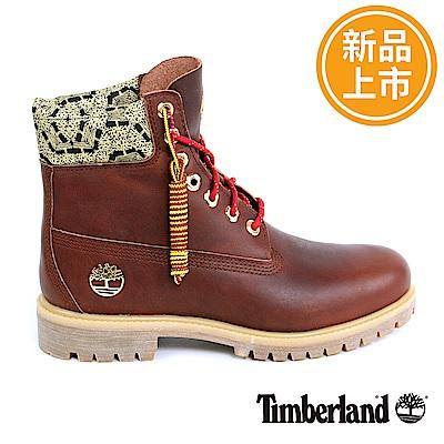 Timberland 新春限定男款深咖啡經典6吋靴
