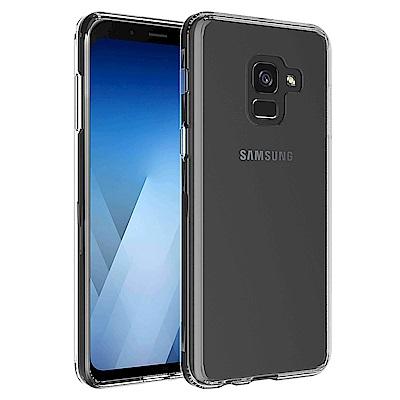 QinD SAMSUNG Galaxy A8(2018) 雙料保護套