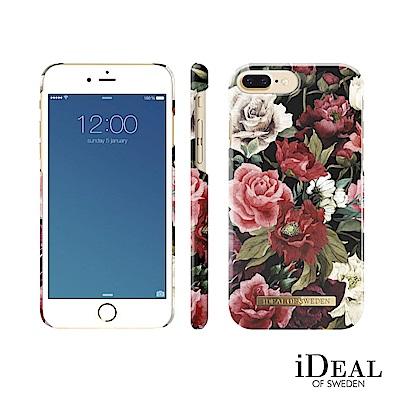 iDeal iPhone 8/7/6 plus 瑞典北歐時尚手機保護殼-荷蘭古典玫瑰莊園