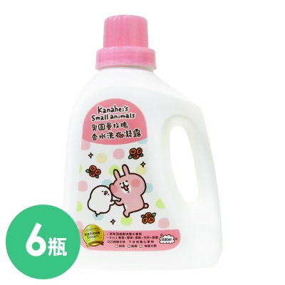 御衣坊 x 卡娜赫拉的小動物奧圖曼玫瑰香水洗衣凝露 1500 mlx 6 入箱