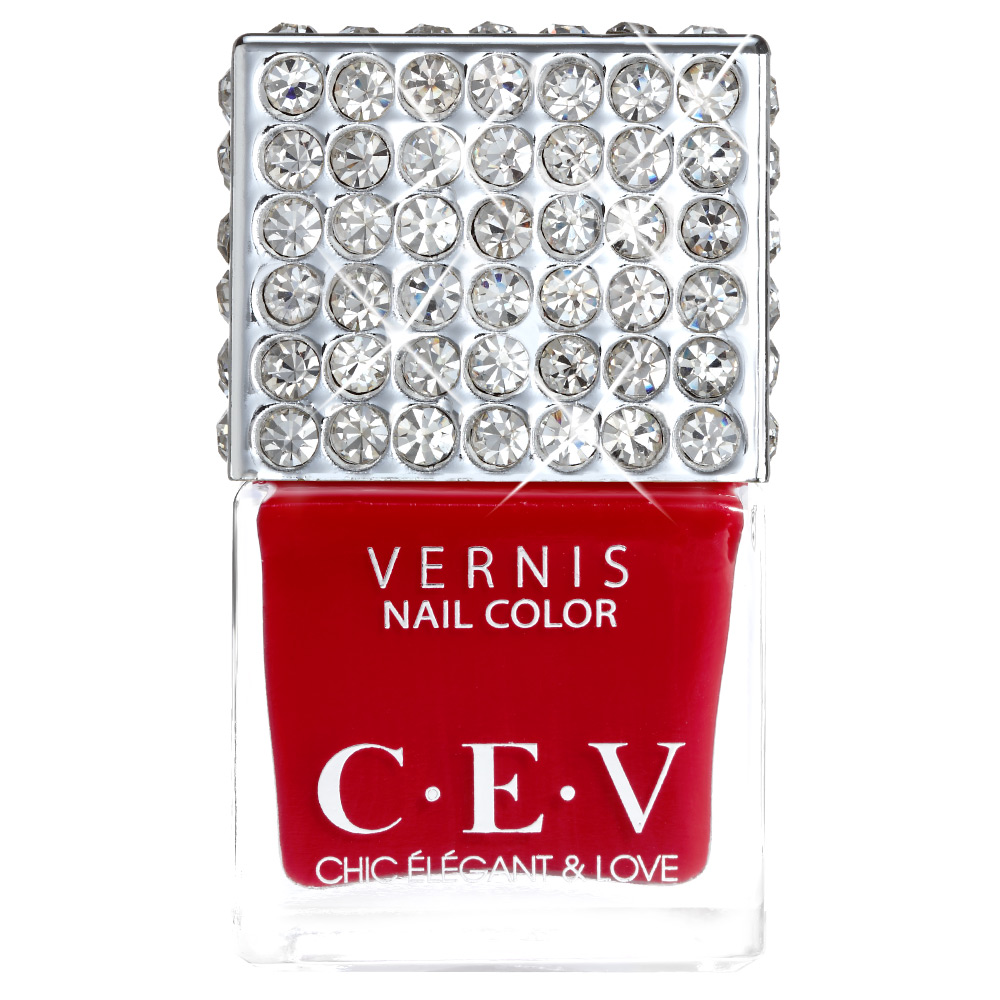 CEV超釉光極緻指彩-GMS08 非常莓好 指甲油 15mL