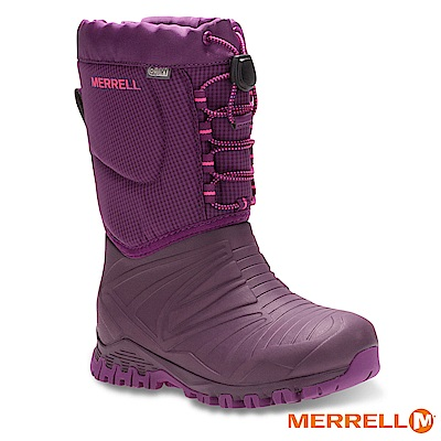 MERRELL SNOW QUEST BOOT WP 防水童靴-桃(55594)