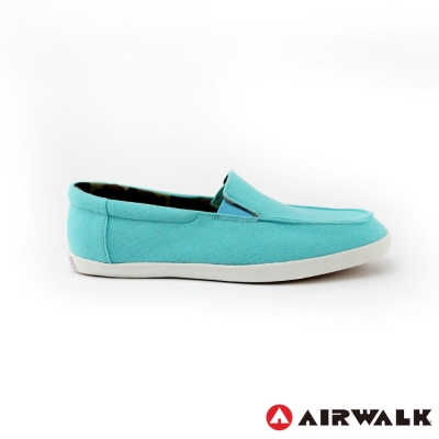 【美國AIRWALK】率性帆布鞋-女款(淺藍色)