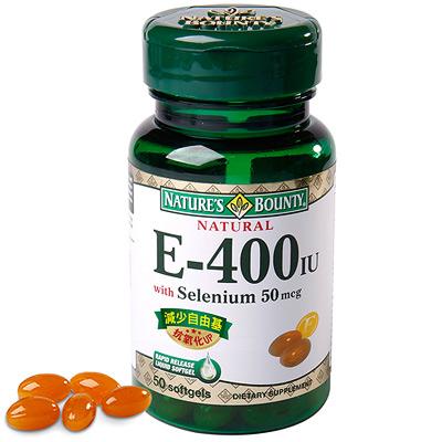 【自然之寶】維生素E+硒軟膠囊50顆