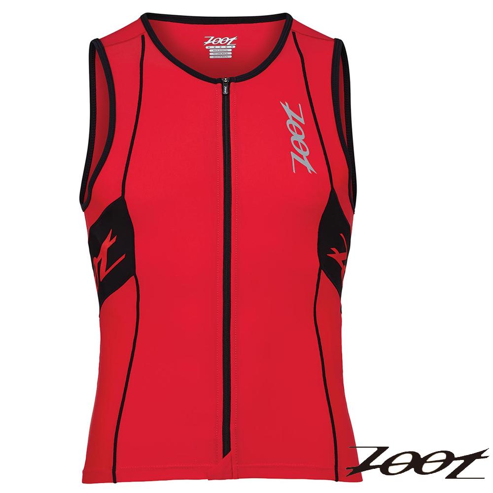 ZOOT 專業級全拉式鐵人上衣(雅仕紅黑)(男) Z1506027