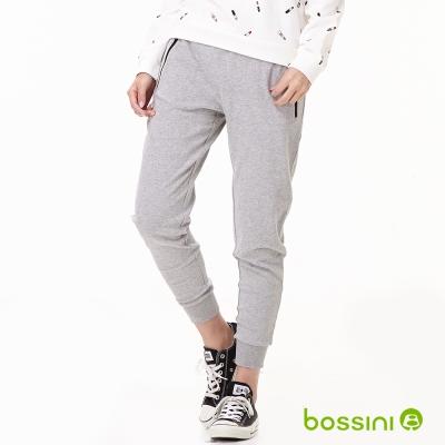 bossini女裝-針織運動褲03淺灰
