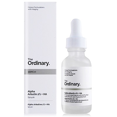 The Ordinary 高濃縮 Alpha 熊果素去斑精華30ml
