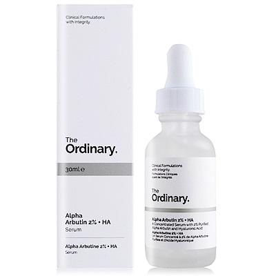 The Ordinary Alpha Arbutin 2% + HA 高濃縮 Alpha 熊果素淨白精華30ml